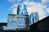 Skyscrapers In Vilnius City On September 24, 2014