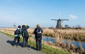 Photographing The Dutch Windmills