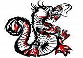 China Dragon Drawing