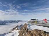 Altitude Of 3000 M In The Alps