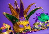 image of carnivale  - Festive Grouping of mardi gras - JPG