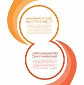 Presentation background blended circular elements