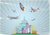 Airplane Urban