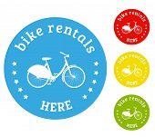 Bike Rental Icon