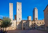 San Gimignano's Main Square
