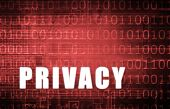 Privacy on a Digital Binary Warning Abstract