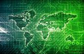 foto of vpn  - Data Network on a Corporate System as Art - JPG