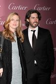 LOS ANGELES - JAN 3:  Helen Estabrook, Jason Reitman at the Palm Springs Film Festival Gala at a Convention Center on January 3, 2014 in Palm Springs, CA