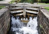 Lock of the Chesapeake and Ohio Canal.