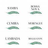 Latin Music Genres Green Laurel