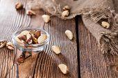 stock photo of brazil nut  - Brazil Nuts  - JPG