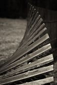 Old, Wooden, Rickety Fence