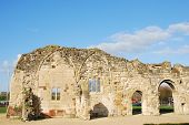 St Oswald's Priory Ruins In Gloucester