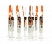 Collection Of Single Dose Syringes