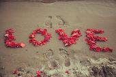 Footprints lovers