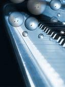 Bubbling Piano poster