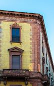 picture of ferrara  - Ancient renaissance building in the downtown of Ferrara - JPG
