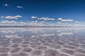 picture of incredible  - Touring through the incredible uyuni salt flats - JPG