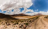 stock photo of south-western  - Landscape seen while doing a 3 day tour through south western bolivia - JPG