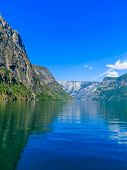 picture of fjord  - Tourism vacation and travel - JPG