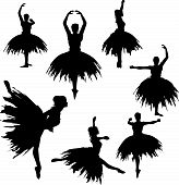 Classical Ballerina Silhouettes