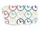 picture of time-piece  - Time concept - JPG