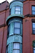 Ornate Rounded Bay Windows One