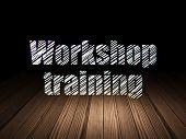 foto of training room  - Education concept - JPG