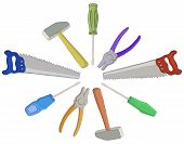 pic of pliers  - Set operating tools - JPG