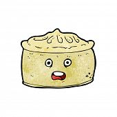picture of pie-in-face  - cartoon pie with face - JPG