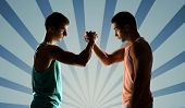 picture of wrestling  - sport - JPG