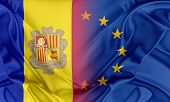Постер, плакат: European Union and Andorra
