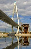 image of skyway bridge  - the cable - JPG