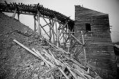 Abandoned Gold mine Alaska