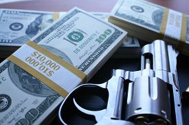 picture of smuggling  - Robbery close up stock photo - JPG