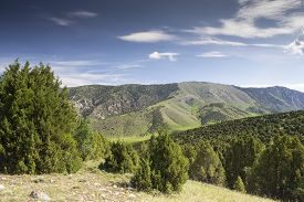 pic of shiva  - Mountain Valley Shiva,  Kyrgyzstan, Batken Province,  a picturesque valley where  pastoralists live - JPG