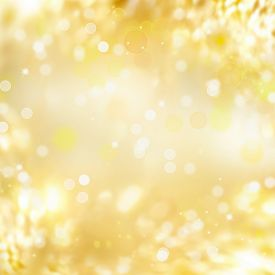 picture of glow  - Gold background - JPG