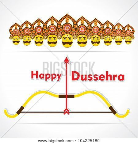 Happy dussehra greeting card design poster id104225180 happy dussehra greeting card design poster m4hsunfo