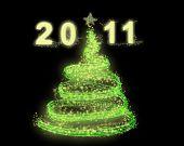 2011 new year tree christmas