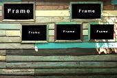 wood frame notice