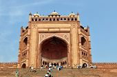 Buland Darwaza In Fatehpur Sikri, India