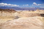 Lunar landscape, Zabriskie Point