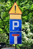 Sinal de estacionamento