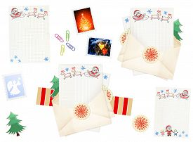 image of letters to santa claus  - Letter to Santa Claus - JPG