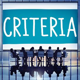 stock photo of conduction  - Criteria Controlling Follow Guidelines Conduct Concept - JPG