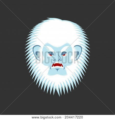 Yeti Angry Emoji Bigfoot Evil