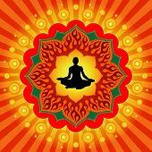 Постер, плакат: Йога медитации