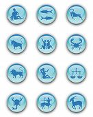 Zodiac Buttons