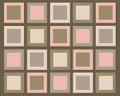 Retro Pink And Brown Squares Background Image