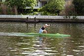 Canoe Paddling
